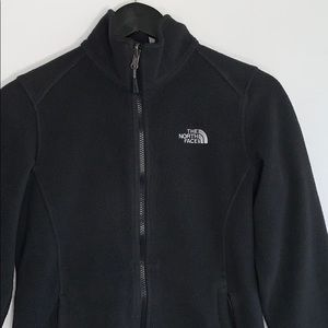 The North Women's Black ZIP Up Jacket